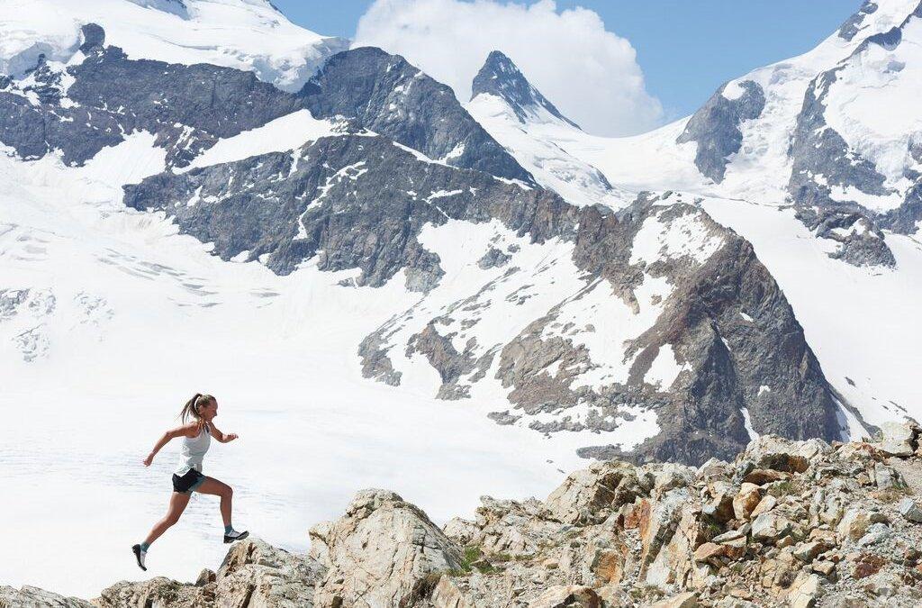 Trailrun in den Bergen
